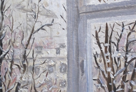 Window. Winter. Etude 1991